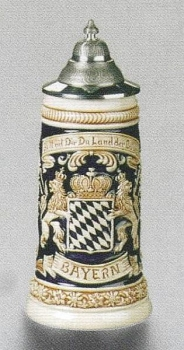 Zoeller & Born Bavarian Flag Beer Stein