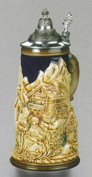 Zoeller & Born Alpine Romantic Beer Stein