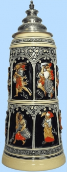 King 2015 Handpainted Beer Stein
