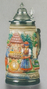 Zoeller & Born Black Forest Panorama Beer Stein