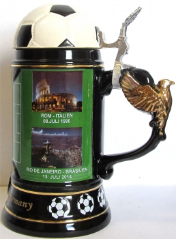 King 2014 World Cup Champion Beer Stein