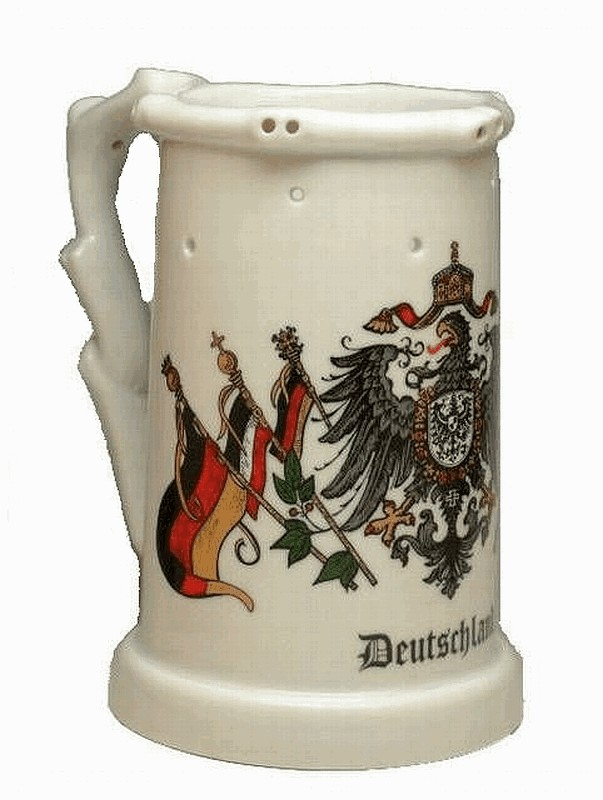 stein man webshop for authentic german beer steins and stoneware king porcelaine trick mug. Black Bedroom Furniture Sets. Home Design Ideas
