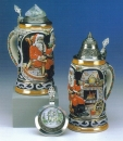 "King ""Nikolaus Fireplace"" Christmas Beer Stein"