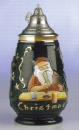 King Giant Christmas Beer Stein