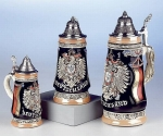 King Deutschland-Monarchy-Eagle Beer Stein