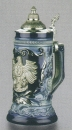 Zoeller & Born Blue Deutschland Beer Stein