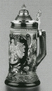 Zoeller & Born Black Deutschland Beer Stein