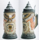 Zoeller & Born USA Flag Beer Stein