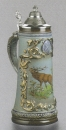 Zoeller & Born Gold Relief Hunter Beer Stein
