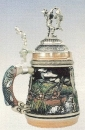 Zoeller & Born Fisherman Beer Stein