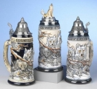 "King ""Wolf Pack"" Beer Stein"