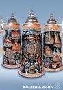 Zoeller & Born Deutschland City Crest Beer Stein