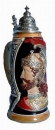 King 2003 Handpainted Beer Stein