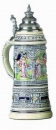 King 2005 Handpainted Beer Stein