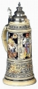 King 2007 Handpainted Beer Stein
