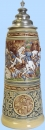King 2016 Handpainted Beer Stein