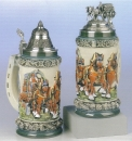 "King ""Bierzug"" Beer Stein"