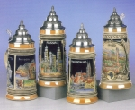 King Historical City Beer Stein