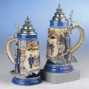 "King ""Faithful unto Death"" Beer Stein"