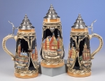 King Frankfurt City Beer Stein
