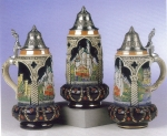 King Castle Crown Beer Stein