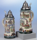King Deutschland Beer Stein