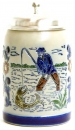 3097-12 Fisherman Beer Stein