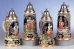 King 4 Seasons Beer Stein Series