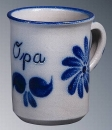 Schilz Salt Glazed Opa Coffee Mug