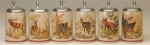 King Hunting Design Beer Steins