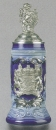 Zoeller & Born Blue Bavaria Beer Stein