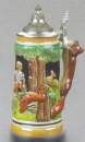 Zoeller & Born Fox Handle Beer Stein