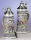 King Historical Fireman Beer Stein