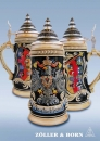 Zoeller & Born Deutschland Flag Beer Stein