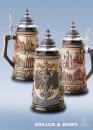 Zoeller & Born German Eagle City Beer Stein