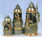 King Holland Beer Stein