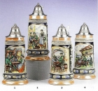 King Limited Edition Beer Steins
