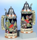 King Oktoberfest Relief Beer Stein