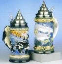 "King ""Wonder of the Seas"" Beer Stein"