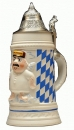 "King ""Aloisius"" Beer Stein"