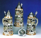 King Bavarian Castle Beer Stein