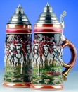 "King ""Husars"" Beer Stein"