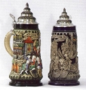 King Deutschland Panorama Beer Stein