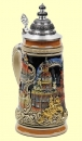 King Dresden Beer Stein