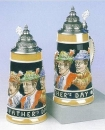 King 3 Generations Beer Stein