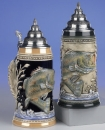 King Fisherman Beer Stein