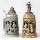 "Thewalt 1893 ""Crusaders"" Beer Stein"