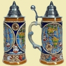 King Earth Globe Beer Stein