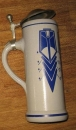 Herforder Pils 1995 Annual Beer Stein