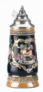 King Kissing Couple Beer Stein